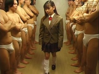Bukkake Highschool Lesson 19 Japanese uncensored blowjob