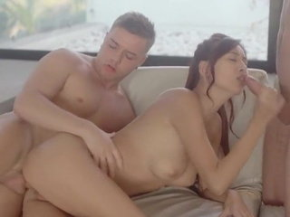 Youthful Juicy Japanese Beauty Gets Fucked By Two Russian Boys