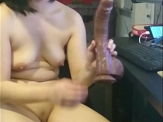 Drill-hole Chan and transmitted to BBC dildo