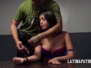 Sophia Leone vs Broad in the beam Dick