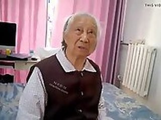Asian amateur granny Chinese chubby rubilute