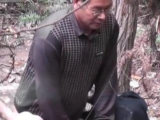 Asian old man fuck whore in wood 1 goo.gl/TzdUzu